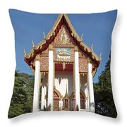 Wat Burapa Ubosot Dthu400 Throw Pillow
