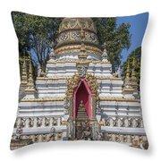 Wat Chai Monkol Phra Chedi Buddha Niche Dthcm0863 Throw Pillow