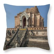 Wat Chedi Luang Phra Chedi Luang Dthcm0048 Throw Pillow