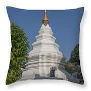 Wat Duang Dee Phra Chedi Dthcm0299 Throw Pillow
