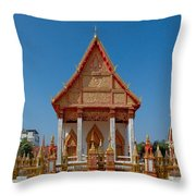 Wat Liab Ubosot Dthu035 Throw Pillow