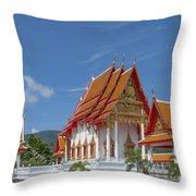 Wat Luang Pu Supa Ubosot Dthp323 Throw Pillow