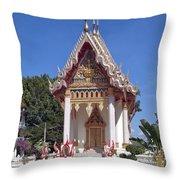 Wat Mahawanaram Ubosot Dthu652 Throw Pillow