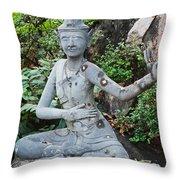 Wat Pho Throw Pillow