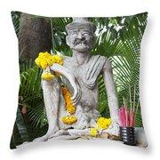 Wat Pho, Thailand Throw Pillow