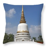 Wat Phrasri Mahathat Phra Chedi Srimahatha Dthb1473 Throw Pillow