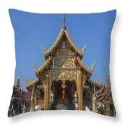 Wat Saen Muang Ma Luang Phra Wihan Dthcm0618 Throw Pillow
