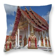 Wat Suwan Khiri Khet Ubosot Dthp268 Throw Pillow