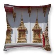 Wat Suwan Khiri Khet Ubosot Windows Dthp273 Throw Pillow