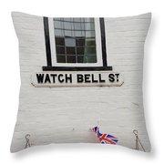 Watch Bell Street Rye Throw Pillow
