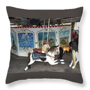 Watch Hill Merry Go Round Throw Pillow