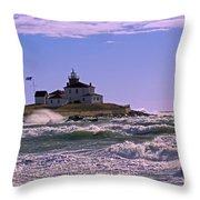 Watch Hill Winter Throw Pillow