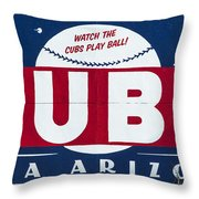 Watch The Cubs Throw Pillow