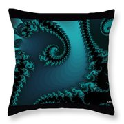 Watchers On The Chalcedony Slide Throw Pillow