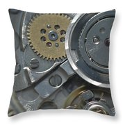 Watches Throw Pillow by Igor Sinitsyn