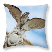 Watchful Eagle Throw Pillow