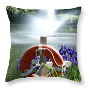 Watchful Eye II Throw Pillow