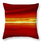 Watching History Go By... Throw Pillow