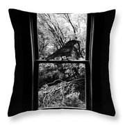 Watching Our Wings  Throw Pillow