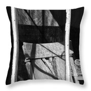Watching Time Go By Throw Pillow