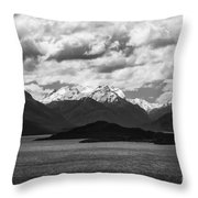 Water---snow---clouds 2 Throw Pillow