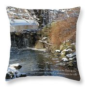 Water 1 Throw Pillow