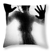 Water And Shadows Throw Pillow
