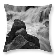 Water And Stone Nigel Creek 2 Throw Pillow