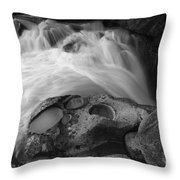 Water And Stone Nigel Creek 7 Throw Pillow
