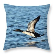 Water Ballet Throw Pillow