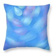 Water Balloons Spinning Throw Pillow