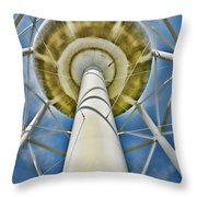 Water Belly II Throw Pillow