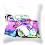 Water Colors 36 Ford Throw Pillow