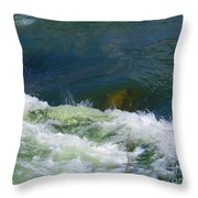 Water Detail 01 Throw Pillow