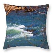 Water Detail 03 Throw Pillow