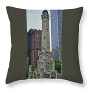 Water District Building 1044 Throw Pillow