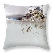 Water Drops Abstract6 Throw Pillow