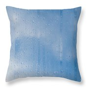 Abstract Of Condensation And Vapor Throw Pillow
