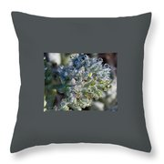 Water Due Throw Pillow