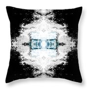 Water Explosion Throw Pillow