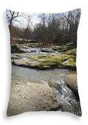 Water Fall Kentucky 2 Throw Pillow