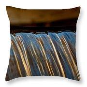 Water Falls Edge 3 Throw Pillow