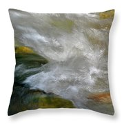 Water - Flow Of Life 1 Throw Pillow
