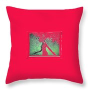 Water Fountain Statue Collage St. Paul Minnesota 1966-2012 Throw Pillow