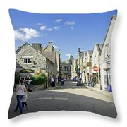 Water Lane - Bakewell Throw Pillow