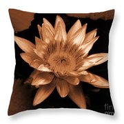 Water Lilies 012 Throw Pillow