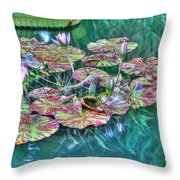 Flower 12 Throw Pillow