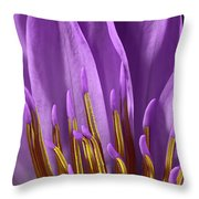Water Lily-0005 Throw Pillow