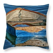 Water-logged Throw Pillow