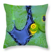 Water Plants 3 Throw Pillow